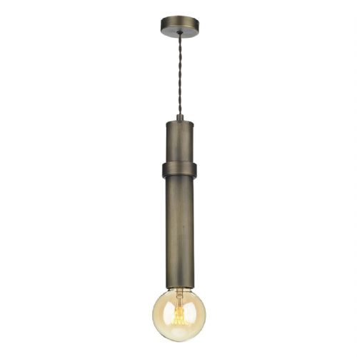 Adling 1 Light Pendant Antique Brass ADL0175 (7-10 day Delivery) (Double Insulated)